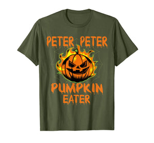 Peter Peter Pumpkin Eater Couples Halloween Costume T-Shirt