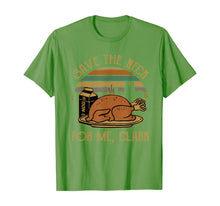 Laden Sie das Bild in den Galerie-Viewer, Thanksgiving Save The Neck For Me, Clark Turkey Meat Lovers T-Shirt