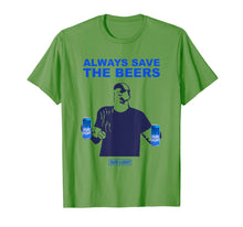 Laden Sie das Bild in den Galerie-Viewer, Offcial-beers-over-baseball-always-save-the-beers Funny T-Shirt