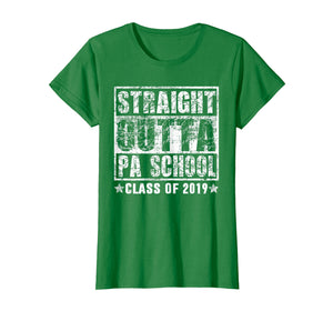 Funny shirts V-neck Tank top Hoodie sweatshirt usa uk au ca gifts for Straight Outta Pa School Class of 2019 Graduate Gift shirt 1341072
