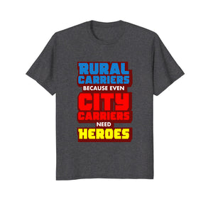 Rural Carriers Shirt, Funny Postal Worker Postman T Shirts