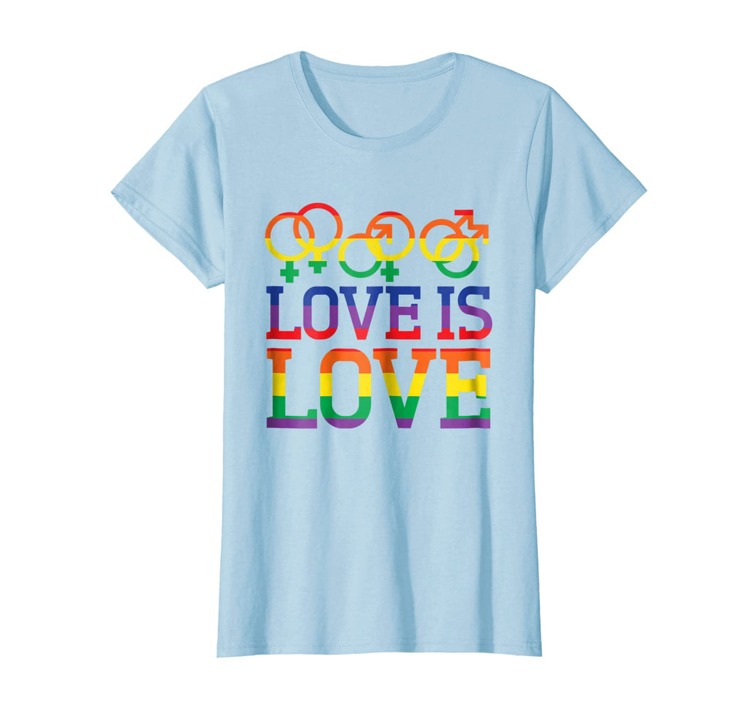 Funny shirts V-neck Tank top Hoodie sweatshirt usa uk au ca gifts for Love Is Love Rainbow t-shirt - Gay Lesbian Pride Shirts 1538657