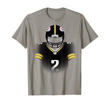 Laden Sie das Bild in den Galerie-Viewer, Rudolph QB #2 Pittsburgh PA Football. T-Shirt