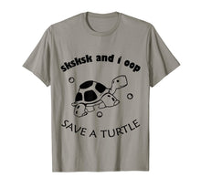 Laden Sie das Bild in den Galerie-Viewer, SkSkSk and i oop save turtles meme vintage apparel gift T-Shirt