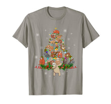 Laden Sie das Bild in den Galerie-Viewer, Sloth Christmas Tree Lights Funny Sloth Xmas Gift T-Shirt