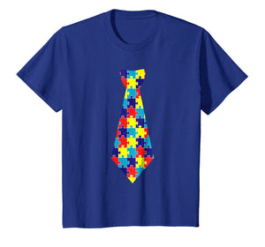 Funny shirts V-neck Tank top Hoodie sweatshirt usa uk au ca gifts for Autism Awareness Puzzle Neck Tie 2017 shirt 1597203
