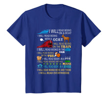 Laden Sie das Bild in den Galerie-Viewer, Funny shirts V-neck Tank top Hoodie sweatshirt usa uk au ca gifts for I will read books on a boat & everywhere reading t-shirt 2669155