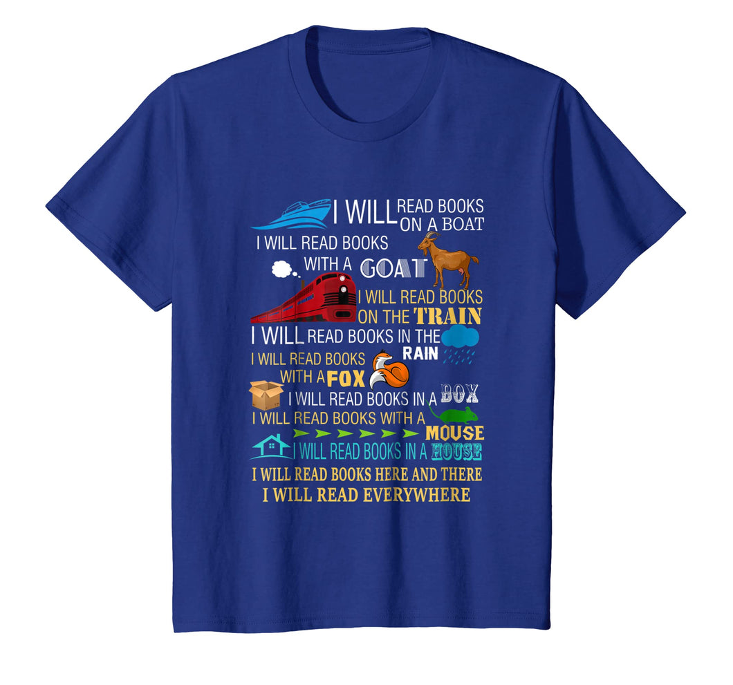 Funny shirts V-neck Tank top Hoodie sweatshirt usa uk au ca gifts for I will read books on a boat & everywhere reading t-shirt 2669155