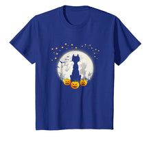 Laden Sie das Bild in den Galerie-Viewer, Funny shirts V-neck Tank top Hoodie sweatshirt usa uk au ca gifts for Halloween Shirt Cat in Moon Pumpkin Cute Funny Kids Gift 2125819
