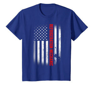 Funny shirts V-neck Tank top Hoodie sweatshirt usa uk au ca gifts for Vintage USA Refrigeration Mechanic American Flag T-shirt 2808167