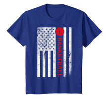 Laden Sie das Bild in den Galerie-Viewer, Funny shirts V-neck Tank top Hoodie sweatshirt usa uk au ca gifts for USA Red White - Vintage American Flag Basketball TShirt Gift 3025804