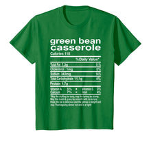 Laden Sie das Bild in den Galerie-Viewer, Thanksgiving Green Bean Casserole Nutritional Facts Gift T-Shirt