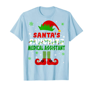 Funny shirts V-neck Tank top Hoodie sweatshirt usa uk au ca gifts for Santa's Favorite Medical Assistant Cute Christmas Gifts T-Shirt 431184