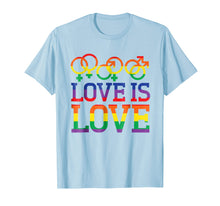 Laden Sie das Bild in den Galerie-Viewer, Funny shirts V-neck Tank top Hoodie sweatshirt usa uk au ca gifts for Love Is Love Rainbow t-shirt - Gay Lesbian Pride Shirts 1538657