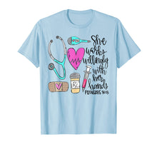 Laden Sie das Bild in den Galerie-Viewer, She Works Willingly With Her Hands Proverbs 31:13 T-Shirt