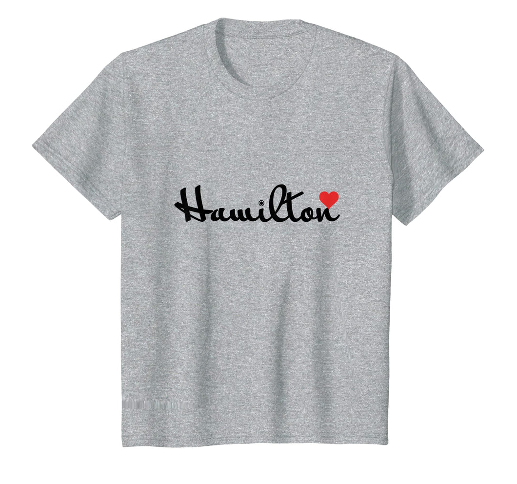 Funny shirts V-neck Tank top Hoodie sweatshirt usa uk au ca gifts for I Love Hamilton Tee Shirt | Premium Gift T-Shirt 1365472
