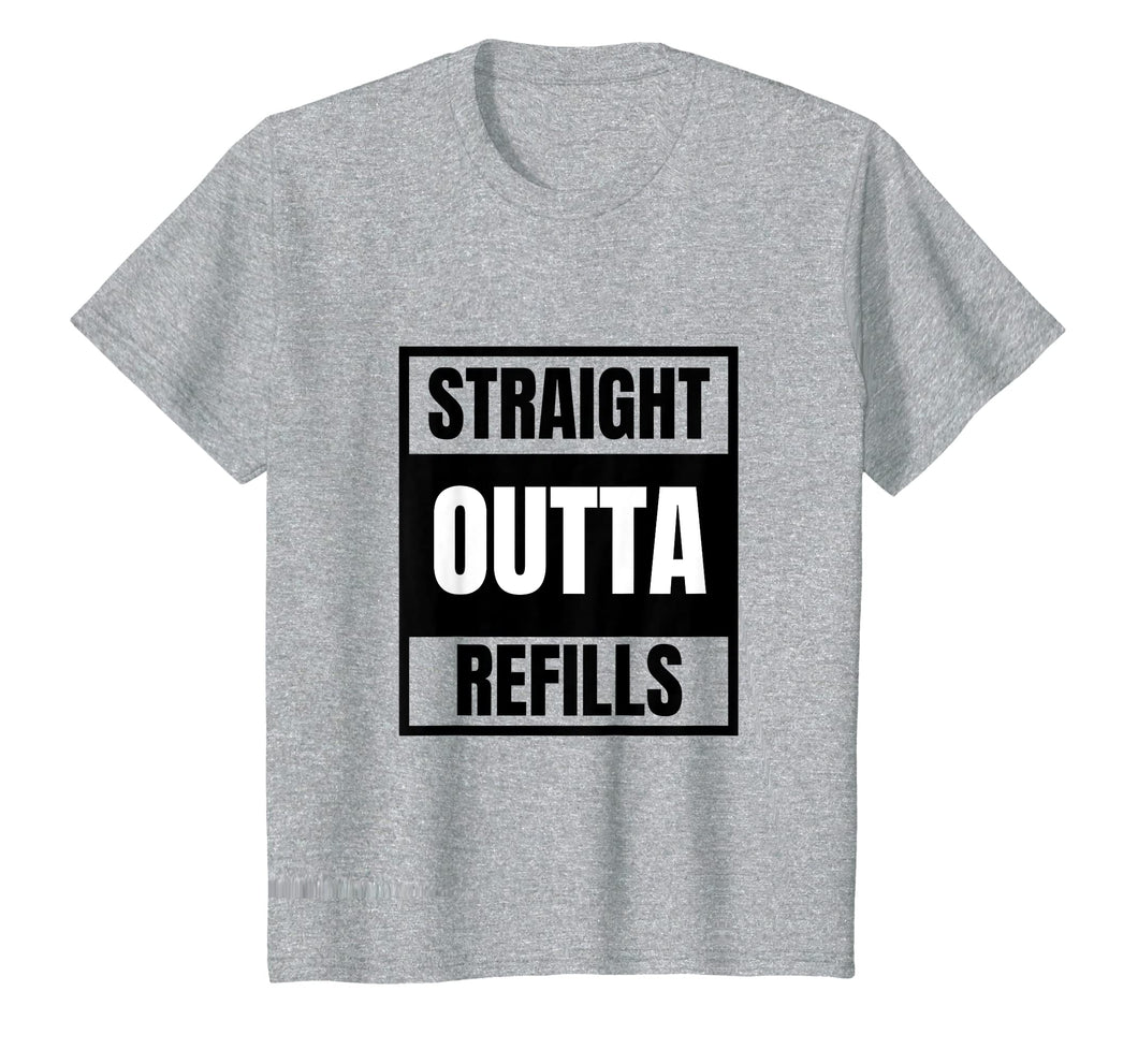 Funny shirts V-neck Tank top Hoodie sweatshirt usa uk au ca gifts for Funny Straight Outta Refills t-shirt for pharmacy, doctors 1085234