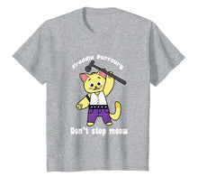 Laden Sie das Bild in den Galerie-Viewer, Funny shirts V-neck Tank top Hoodie sweatshirt usa uk au ca gifts for Freddie Purrcury Shirt Don't Stop Meow T-Shirt Funny Cat 2322860
