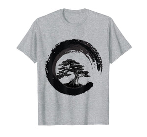 Funny shirts V-neck Tank top Hoodie sweatshirt usa uk au ca gifts for Yin Yang Bonsai Tree Japanese Buddhist Zen T-Shirt 1012640
