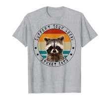 Laden Sie das Bild in den Galerie-Viewer, Funny shirts V-neck Tank top Hoodie sweatshirt usa uk au ca gifts for Support Your Local Street Cats - Vintage Racoon T-Shirt 2035249