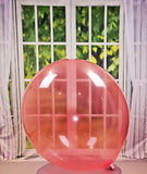 "2 x Belbal B350 ∅ 36""/ 90cm Luftballons * Crystal Soap  Red*"