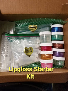 Lip gloss Starter Kit (No mixing required) - Della's Glam