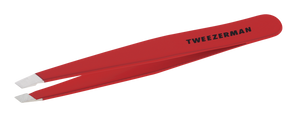 Tweezerman Red Mini Slant Tweezer Classic
