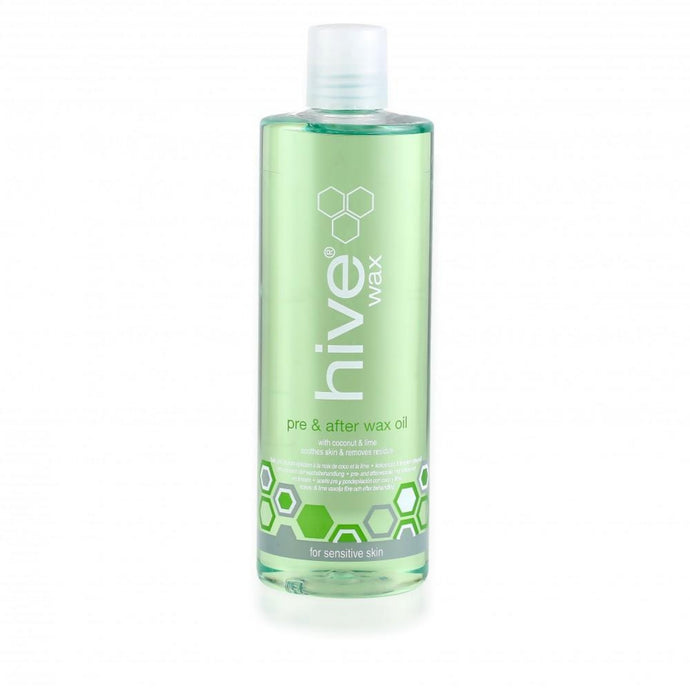 Hive Pre & After Wax Oil with Coconot & Lime 400ml