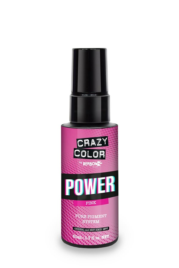 Crazy Color Power Pigment Pink - 50ml
