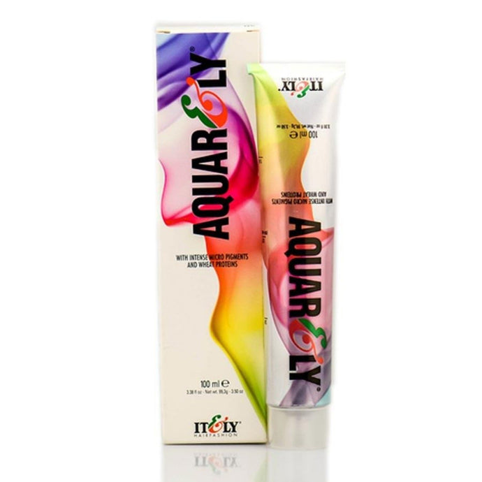 It&ly Aquarely Permanent Hair Colour - 100ml, 10C - ULTRALIGHT ASH BLONDE (10.1)