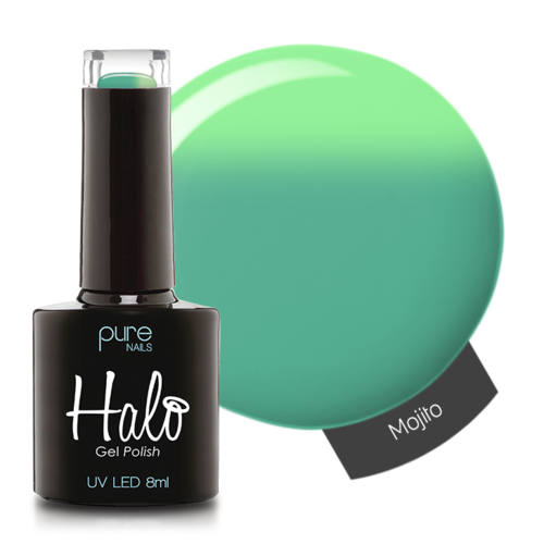 Halo Gel Colour Change Polish - 8ml Mojito