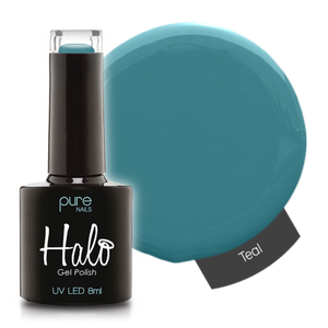 Halo Gel Nail Polish - 8ml Teal