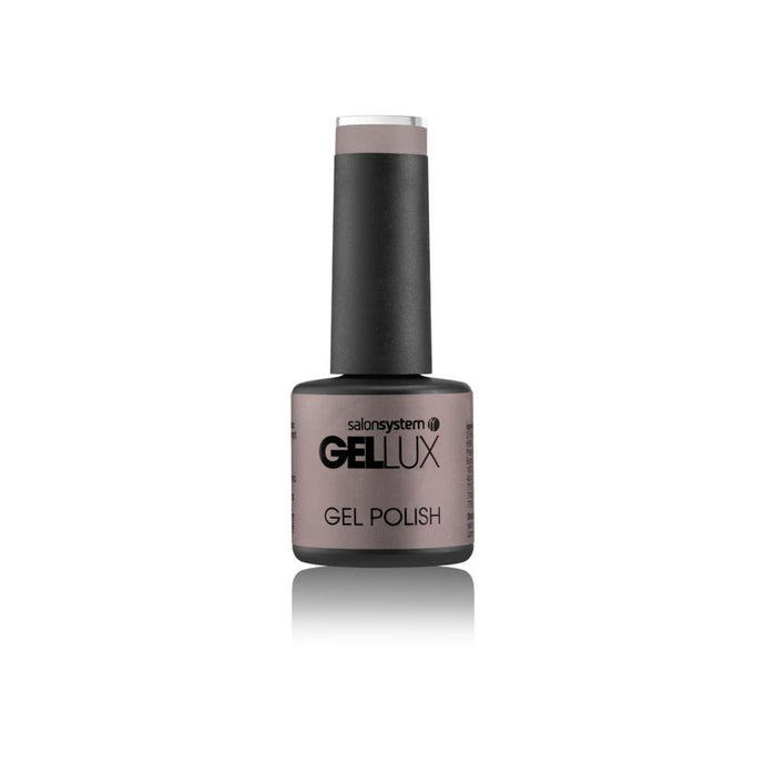 Salon System Gellux Mini Nail Polish - Bare Faced 8ml