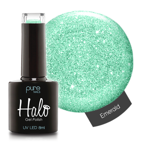 Halo Gel Nail Polish - 8ml Emerald