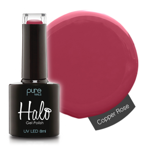 Halo Gel Nail Polish - 8ml Copper Rose