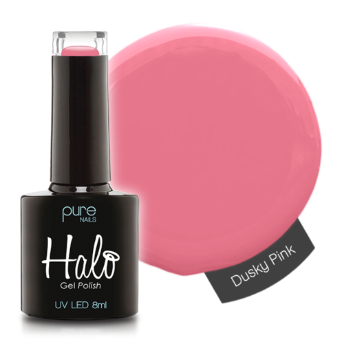 Halo Gel Nail Polish - 8ml Dusky Pink