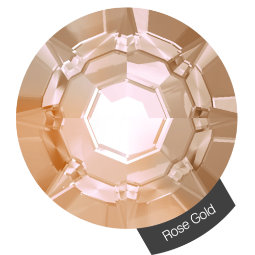 Halo Create Nail Crystals Size 3 - Rose Gold AB