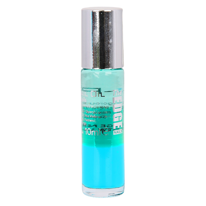 The Edge 3 Phase Nail Oil - Green 10ml - Normal/Dry