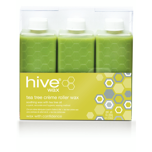 Hive Tea Tree Creme Roller Wax Cartridges 80g (36)