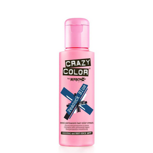 Crazy Colour Peacock Blue Hair Dye 100ml