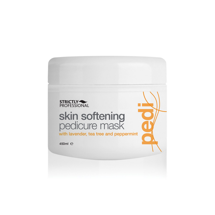 Strictly Professional Skin Softening Pedicure Mask with Lavender, Tea Tree & Peppermint 450ml
