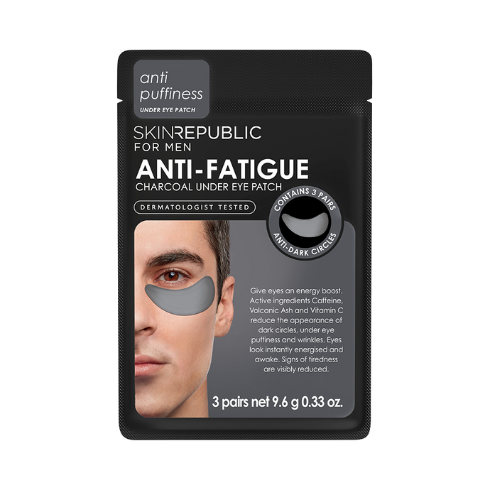 Anti-Fatigue Charcoal Under Eye Patch for Men
