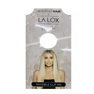 Heavenly Hair LA LOX Invisible Clip In Hair Extensions - Sandy Beach