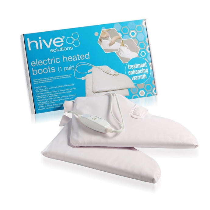 Hive of Beauty Heated Pedicure Boots - 1 Pair