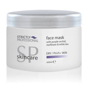 Strictly Professional Facial Mask Dry/Plus+ With Purple Orchid, Starflower & White Tea 450ml