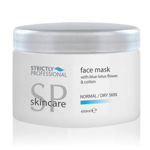 Strictly Professional Facial Mask Normal/Dry With Blue Lotus Flower And Cotton 450ml (SHOP)