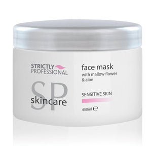 Strictly Professional Sensitive Skin Face Mask with Mallow Flower & Aloe 450ml