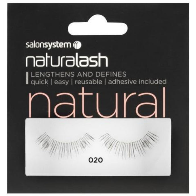 Salon System Naturalash 020 Black Natural
