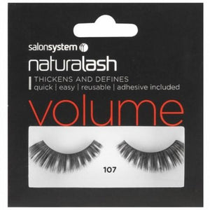 Salon System Naturalash 107 Black Volume