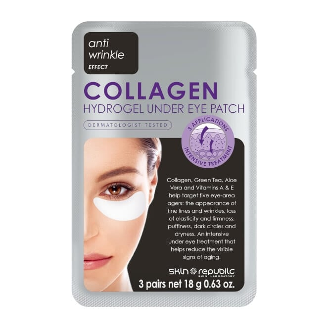 SKIN REPUBLIC Collagen Hydrogel Under Eye Patch 3 x 18g